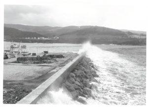 Temporal en febrero de 1963