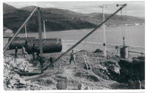Muelle norte (abril 1962)
