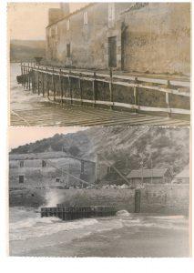 Muelle de O Puntal en 1949