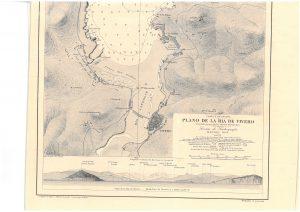 Plano de la Ría de Viveiro (1921)