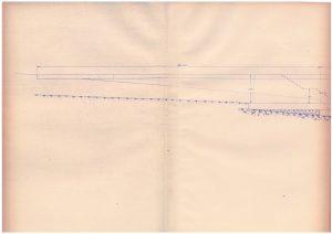 Planos del muelle de hormigón (años 1930).